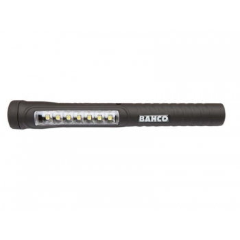 Akuga led taskulamp kahesüsteemne magnetiga 170mm 45 luumenit 7+1 SMD LED mikro USB laadija