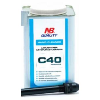 Hand Cleaner 4,5L C40 NB Quality - Lahustivaba kätepuhastuspasta