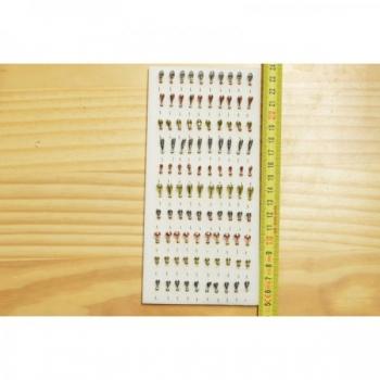 Kirptirk MERMAID tina mudel 7/1 sipelgas, konks Mustad (100tk/pk)