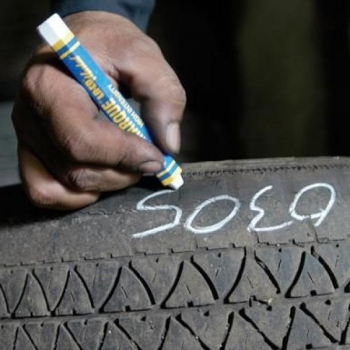 Rehvikriit Markal Tyre Marque 12,7mm, valge