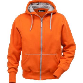 Jakk kapuutsiga ACODE  oranz L