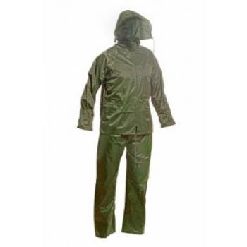 Vihmaülikond nailon/pvc roheline L
