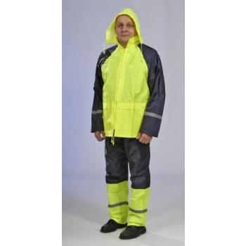 Vihmakuub+püksid helkur KOLLANE XL