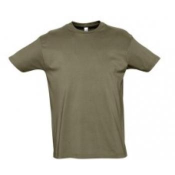 T-Särk, Army roheline, 100% puuvill, S