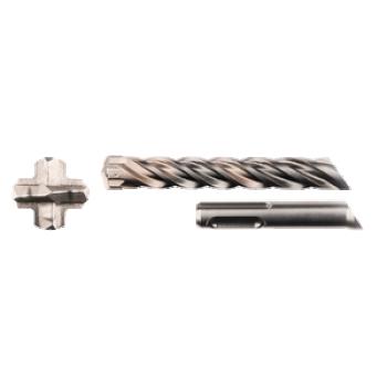 SDS-PLUS puur 6X100/165 MM, 4-C
