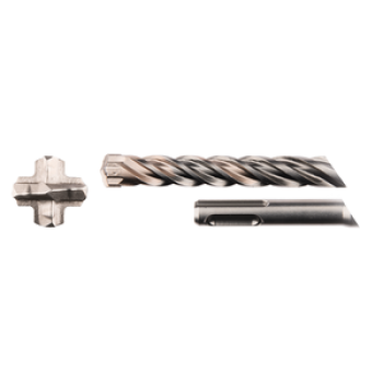 SDS-PLUS puur 10X100/165 MM, 4-C