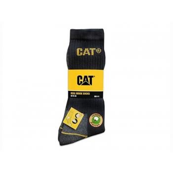 CAT kõrged sokid, must, nr.41-45, 3paari