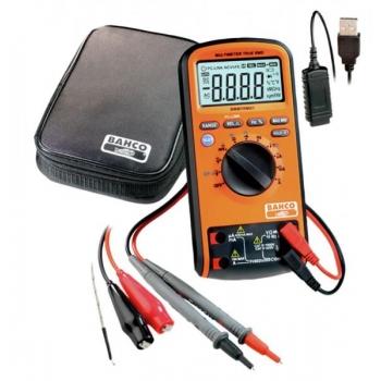 Digitaalne multimeeter AC ja DC kuni 1000 V ; klass 600 V-CATIV ja 1000 V-CATIII ; temp: -55C° kuni + 1000°C ; RMS ; NCV