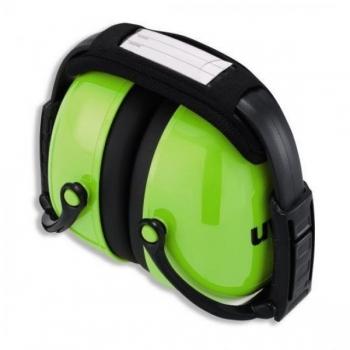 Kõrvaklapid Uvex K2 Foldable. SNR: 31dB, neon lime