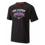 T-särk Lee Cooper must logoga L