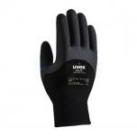 Töökindad külma ilma jaoks, Uvex Unilite Thermo Plus, mustad, suurus 8