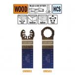 Multitööriista saetera, sirge 28mm.18TPI Puidule, plastikule ja pehmele metallile