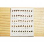 Kirptirk MERMAID tina mudel 4/1 silmaga, konks Mustad (50tk/pk) komplekt