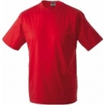 T-särk punane, 100% puuvill, suurus S