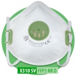 Respiraator Oxyline FFP3 klapiga