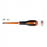 Elektriku kruvikeeraja ERGO™ SLIM Combi SL6/PZ2x100mm 1000V VDE, Slim, peenikese teraga