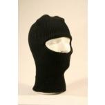 Kootud kiivrialusmüts must, silmaavega