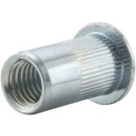 TÕMBEMUTTER ZN ÜP M4x6x11,0 0,5-3mm, ava 6mm, mutterneet