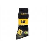 CAT kõrged sokid, must, nr.46-50, 3paari