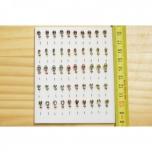 Kirptirk MERMAID tina mudel 7/1 sipelgas, konks Mustad (50tk/pk) komplekt