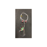 Tonkarakendus ATORA 3 lipsu, õlgadega (9cm) konks nr.6 150cm