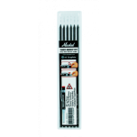 Varuterad Trades-Marker® Dry markeerimispliiatsile. Grafiit, 6tk