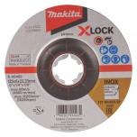 Makita LIHVKETAS 125X6MM, X-LOCK (WA36N), INOX