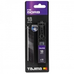 Tajima 18mm varutera DORA Razar Black Blades, 10 tk.