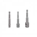 "1/4"" kuuskant adapterite kmpl 3tk (1/4"" - 3/8"" - 1/2"") Truper 10752"