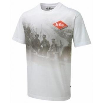 T-Särk Lee Cooper valge graafiline XL