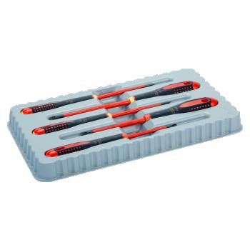 Elektriku kruvikeerajate kmpl. ERGO™ slim 5 osa - PH1/2; SL3,0/4,0/5,5 - 1000V VDE