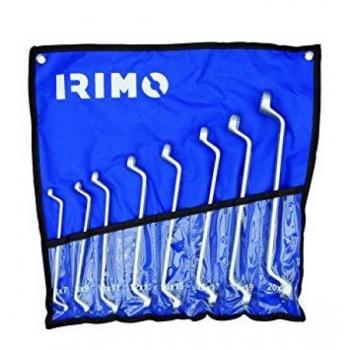 Kahepoolsete offset silmusvõtmete kmpl 8 osa 6-22mm kotis Irimo