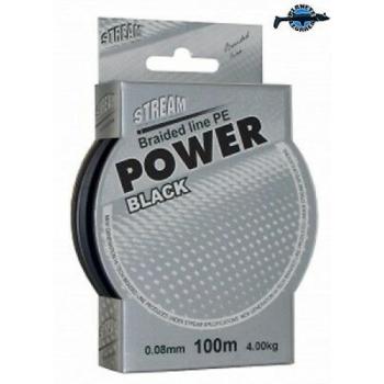 Nöör STREAM PE Pwer Black 100m 017mm, 16,3kg