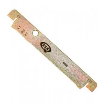 Võsaketta räsaja 1,6 ja 1,8mm ketastele pikkus 180mm