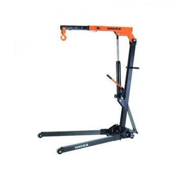 Tõstekraana max 1T, ratastel ja kokkuklapitav