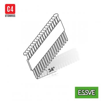 2,8x60 püstolinael kamm/liim O-pea 34° M-Fusion/C4-2800tk