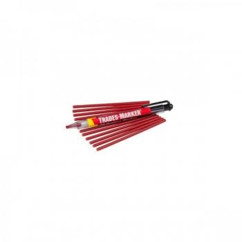 Universaalne marker Markal Trades- Marker Starter Pack, punane (hoidja+12 tera)