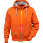 Jakk kapuutsiga ACODE  oranz XL