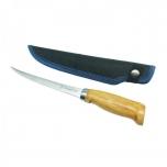 """Fileenuga KINETIC Nordic Fillet Knife 6""""/15cm tupega, puitkäepide"""