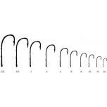 Konks KINETIC Baitholder Single Hook #4 Black 10pcs