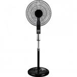 Põrandaventilaator 45cm, 6 kiirust, puldiga