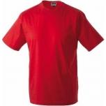 T-särk punane, 100% puuvill, suurus XXL