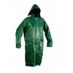 Vihmamantel nailon/pvc roheline L