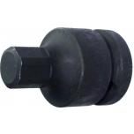 """Sisekuuskant löökpadrun HEX 17mm, 3/4"""" Triumf"""
