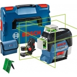 Joonlaser 3D Bosch GLL 3-80 CG (1x2,0 Ah), L-Boxx, kinnitusrakis BM1